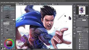 CLIP STUDIO PAINT EX 1.10.6 Crack With Serial Key Download Free