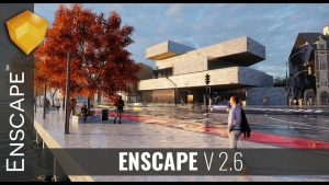 Enscape 3D 3.0 Crack With Serial Key Latest Free Download