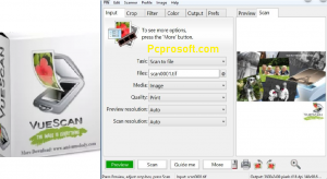 VueScan Pro 9.7.55 Crack With Serial Key Download Free